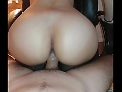 PAWG Unreal Hot Riding..